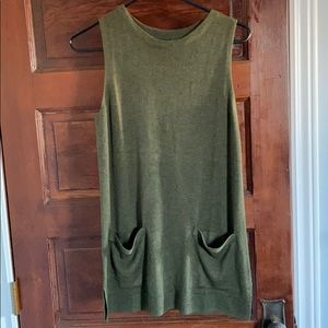 Forest Green BR Sweater Tunic